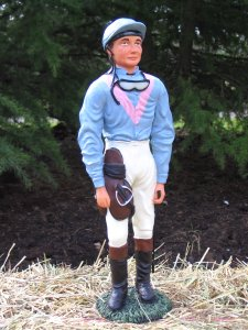 Jockey in your personal colours